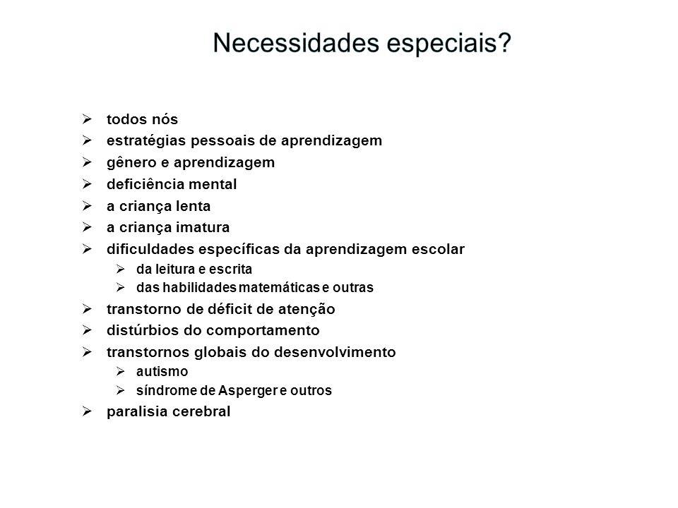 Necessidades especiais