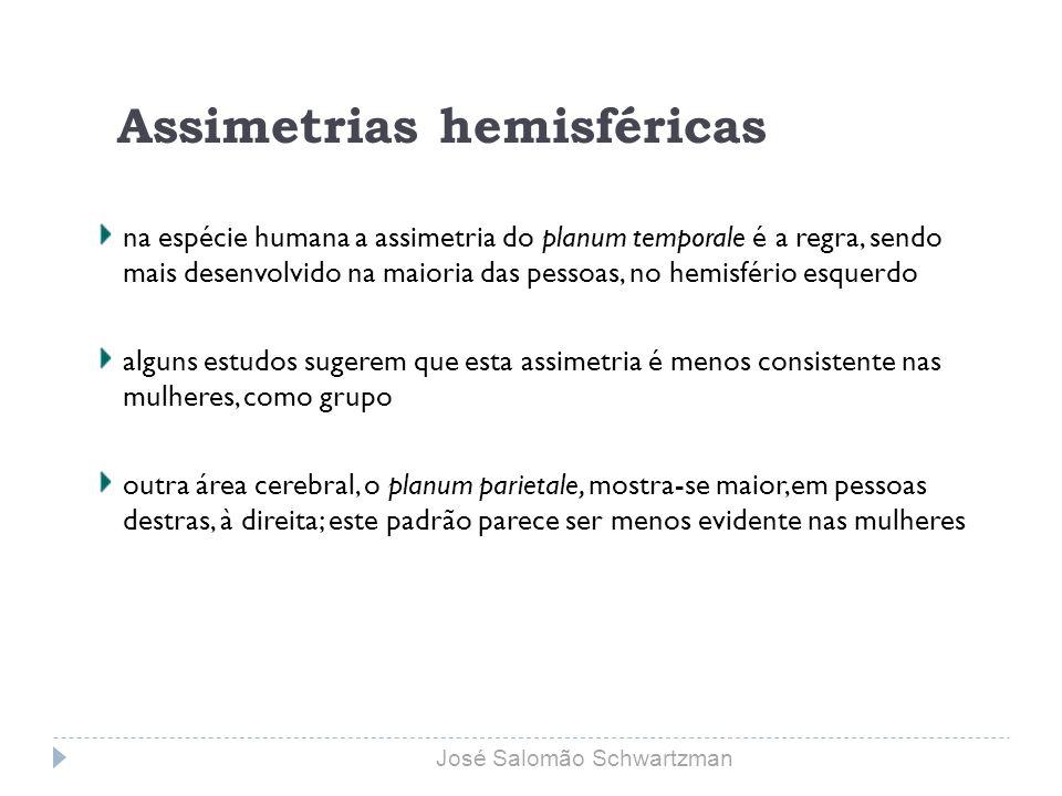 Assimetrias hemisféricas