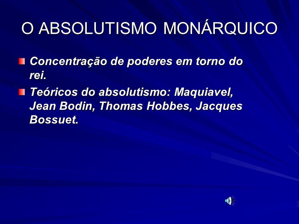 O ABSOLUTISMO MONÁRQUICO