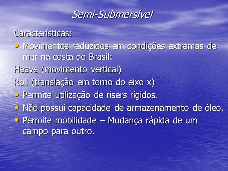 Semi-Submersível Características: