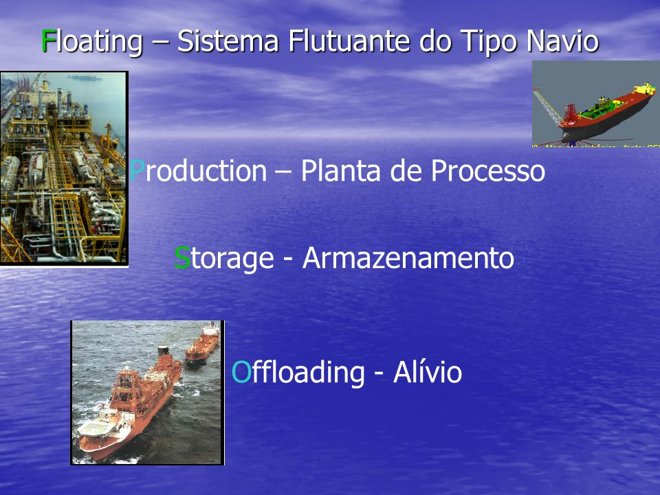 Floating – Sistema Flutuante do Tipo Navio
