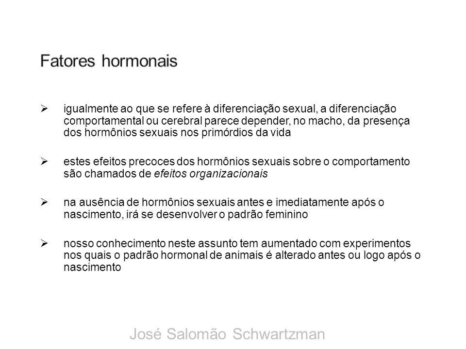 Fatores hormonais José Salomão Schwartzman