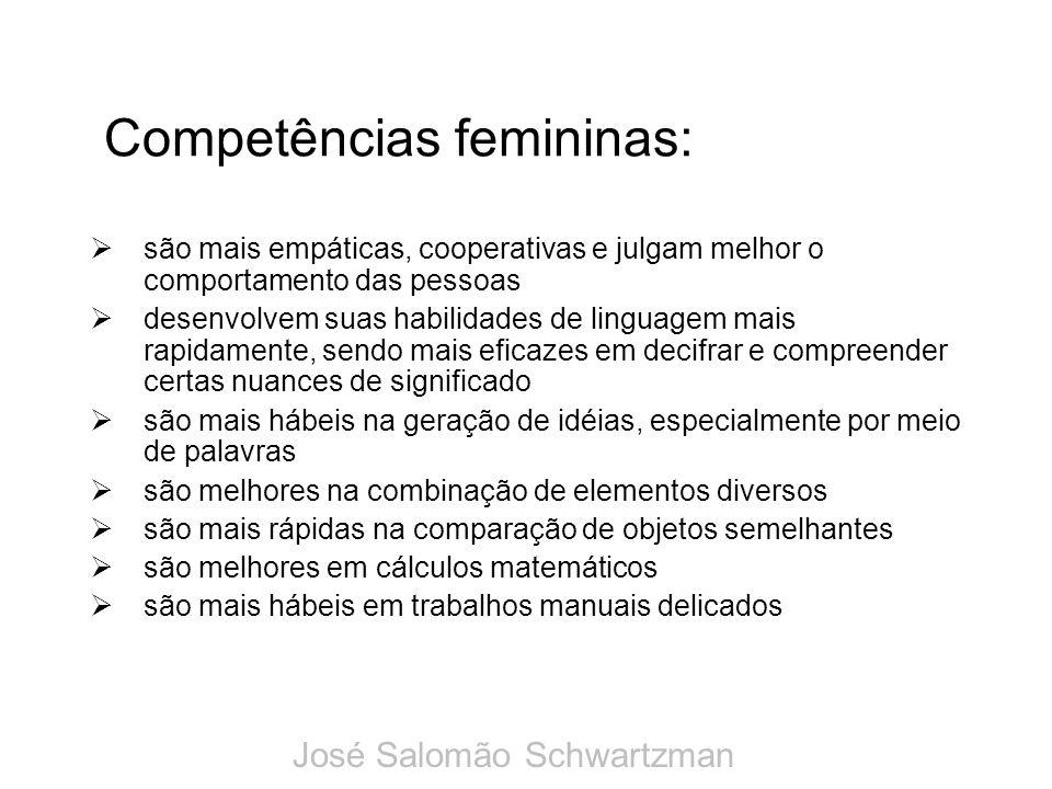Competências femininas: