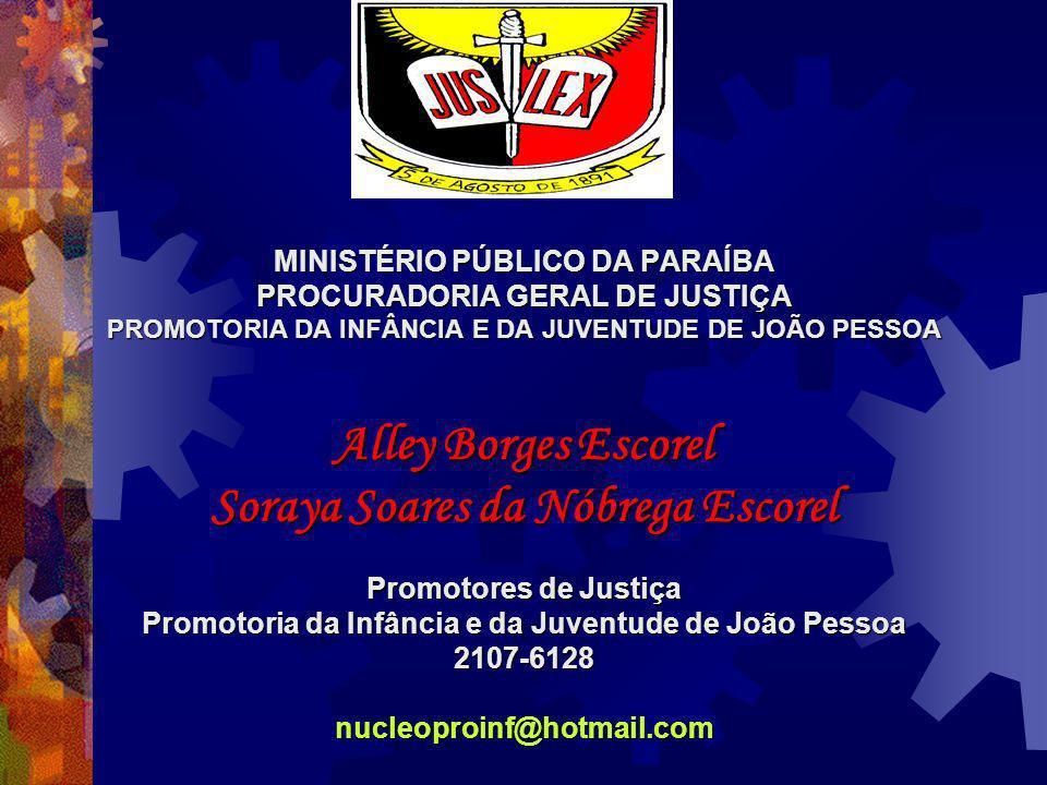 Alley Borges Escorel Soraya Soares da Nóbrega Escorel