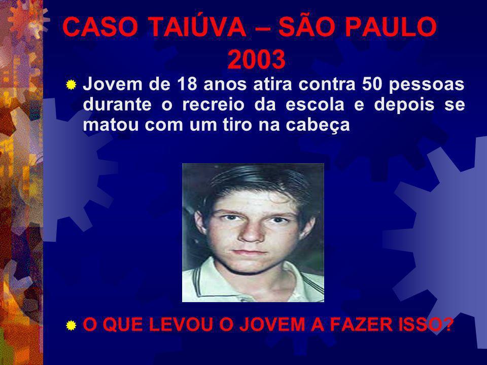 CASO TAIÚVA – SÃO PAULO 2003