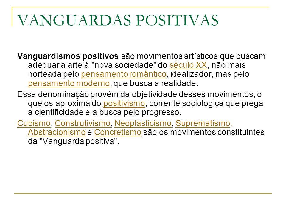 VANGUARDAS POSITIVAS