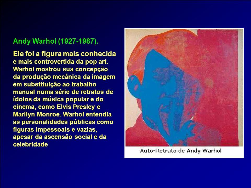 Andy Warhol (1927-1987).