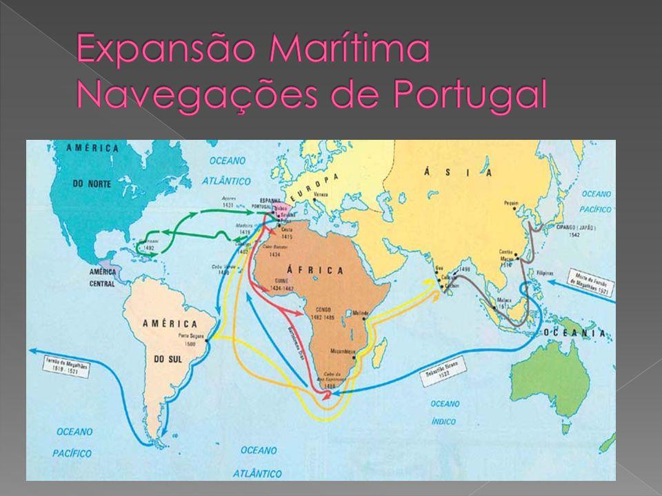 Expansão Marítima Navegações de Portugal