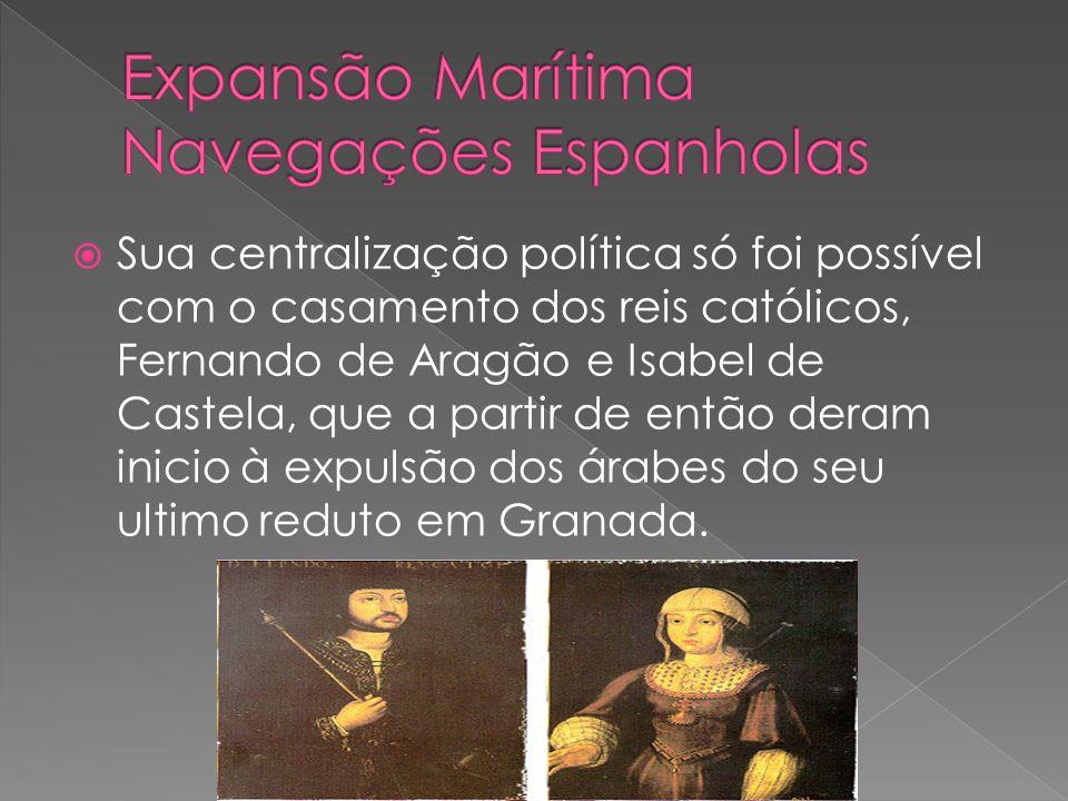Expansão Marítima Navegações Espanholas