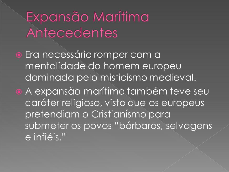 Expansão Marítima Antecedentes