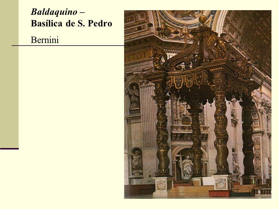 Baldaquino – Basílica de S. Pedro Bernini