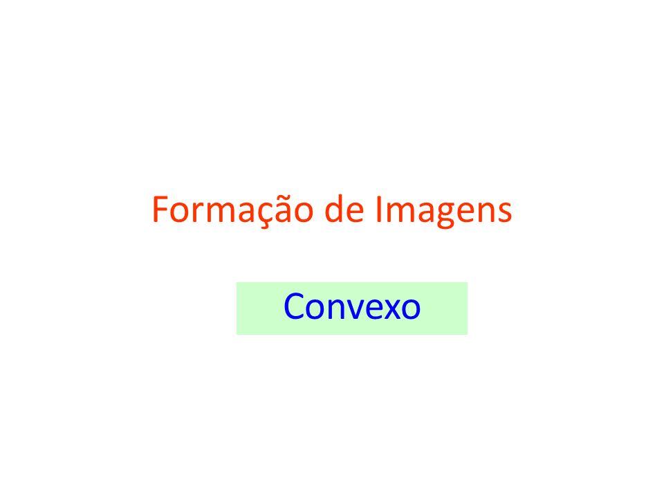 Formação de Imagens Convexo