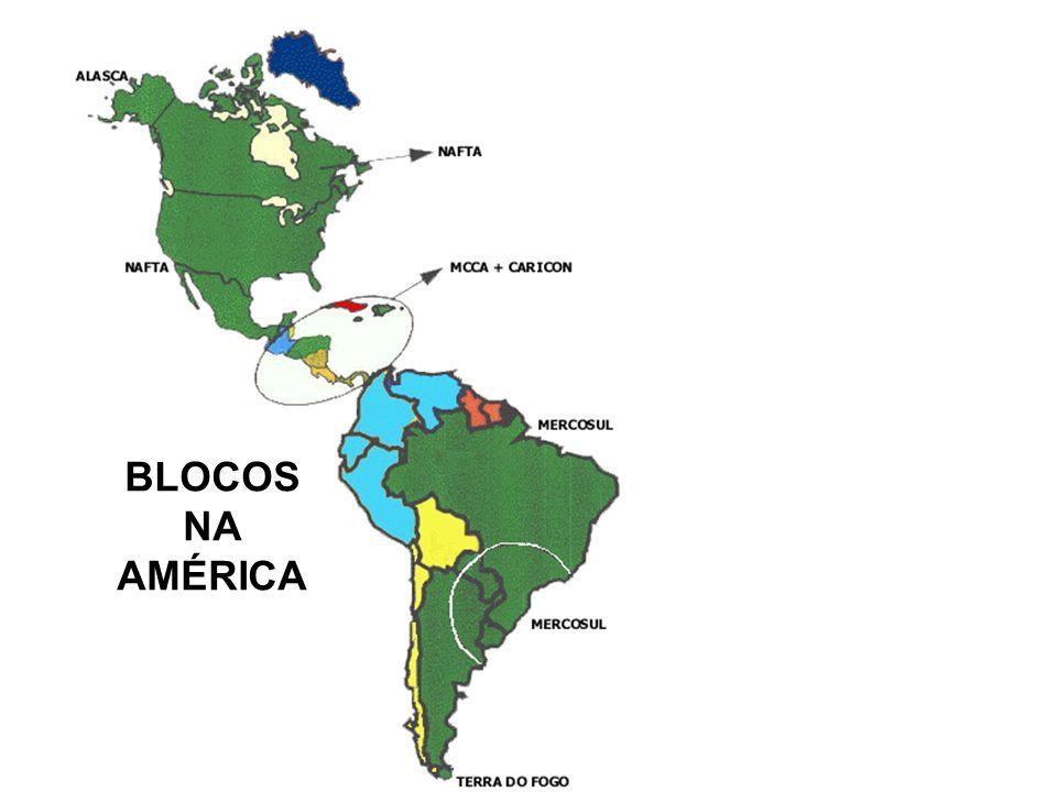 BLOCOS NA AMÉRICA