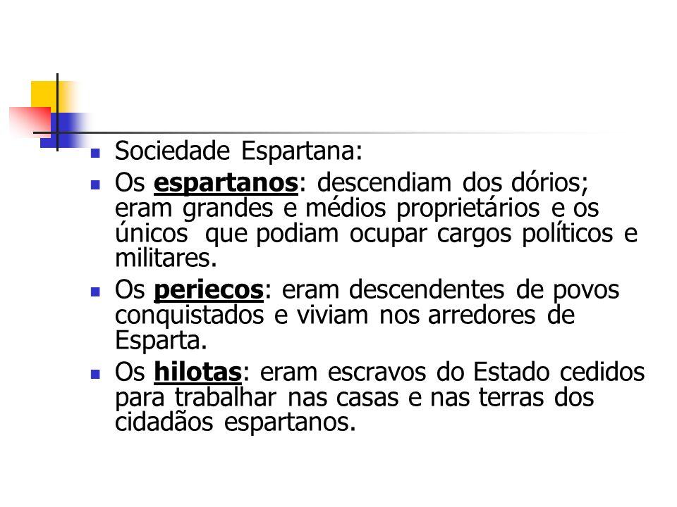Sociedade Espartana: