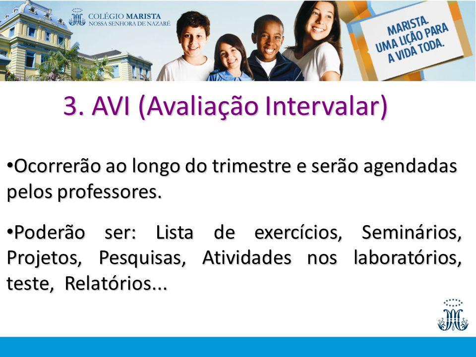 3. AVI (Avaliação Intervalar)