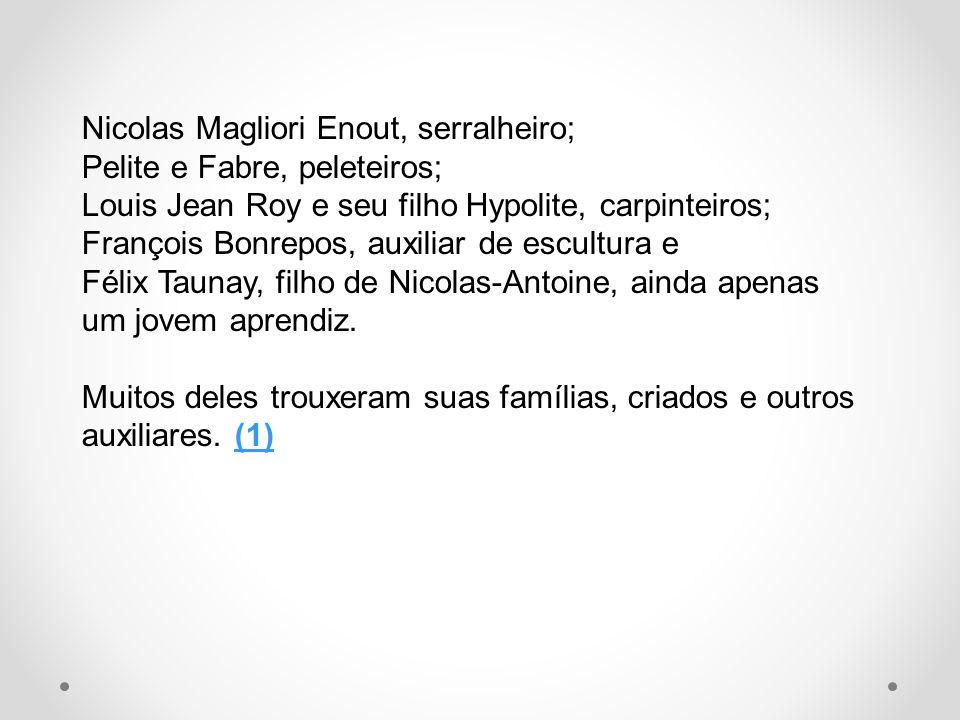 Nicolas Magliori Enout, serralheiro;