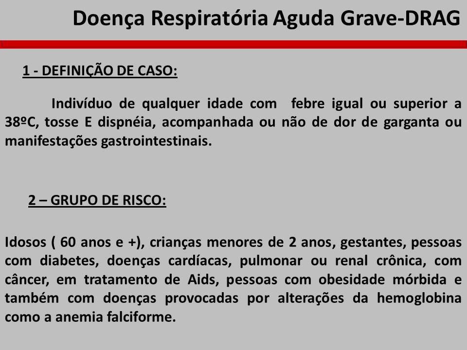 Doença Respiratória Aguda Grave-DRAG