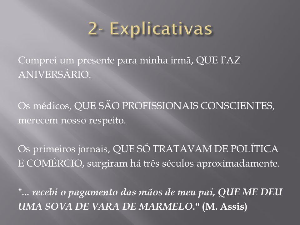 2- Explicativas