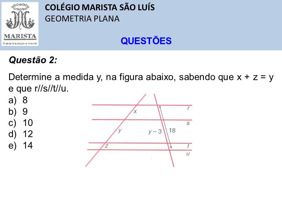 COLÉGIO MARISTA SÃO LUÍS