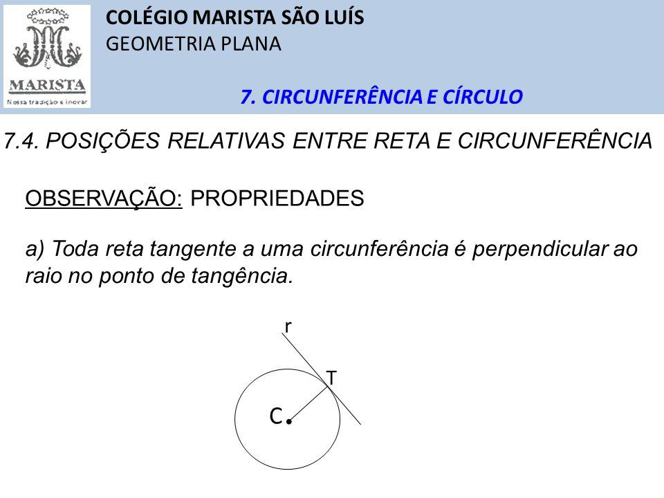 C. COLÉGIO MARISTA SÃO LUÍS GEOMETRIA PLANA