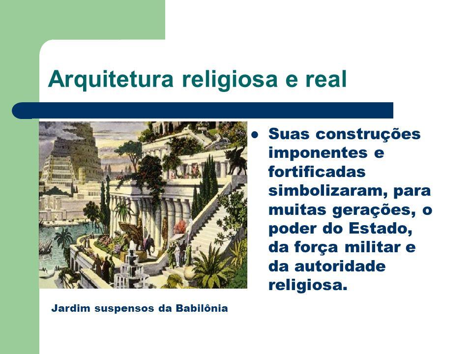 Arquitetura religiosa e real