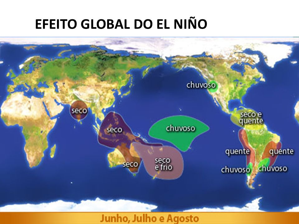 EFEITO GLOBAL DO EL NIÑO