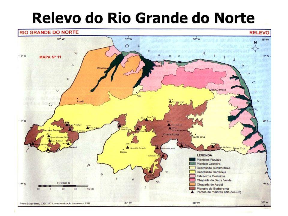 Relevo do Rio Grande do Norte
