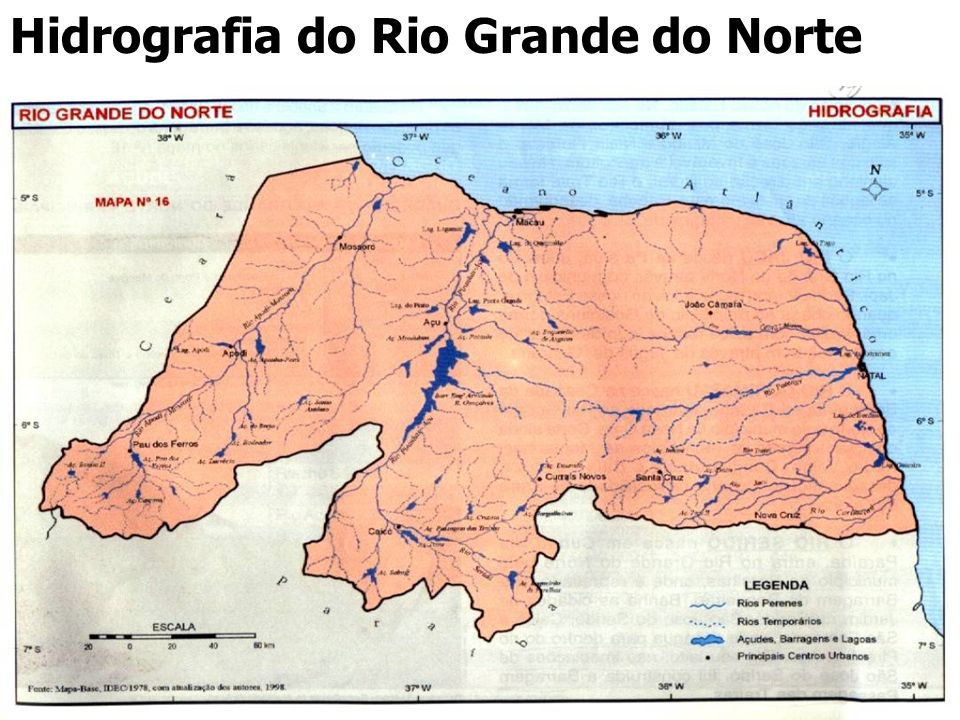 Hidrografia do Rio Grande do Norte