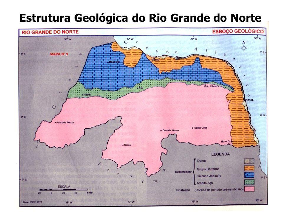 Estrutura Geológica do Rio Grande do Norte