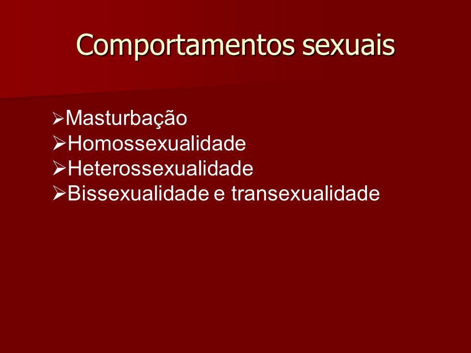 Comportamentos sexuais