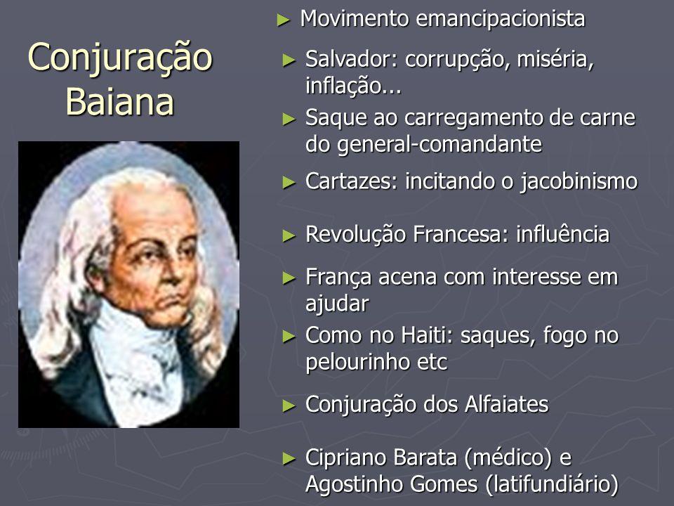 Conjuração Baiana Movimento emancipacionista