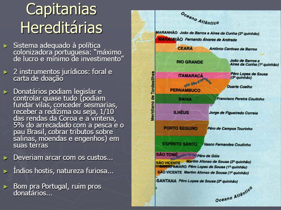 Capitanias Hereditárias