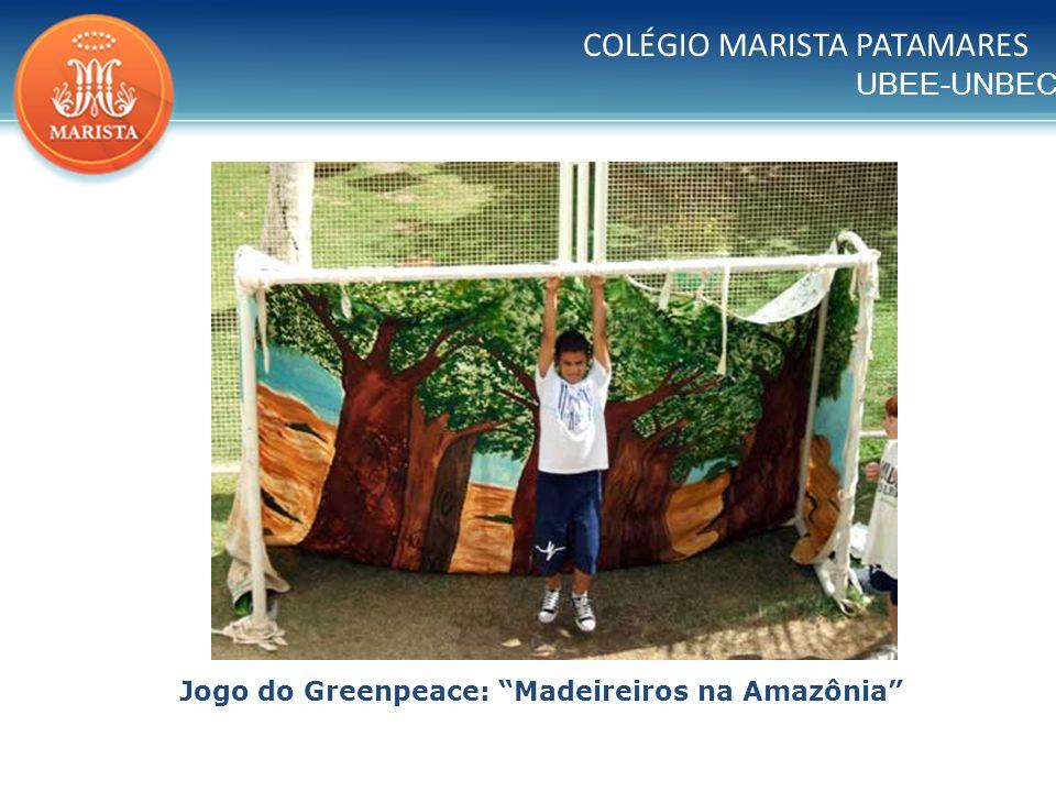 Jogo do Greenpeace: Madeireiros na Amazônia