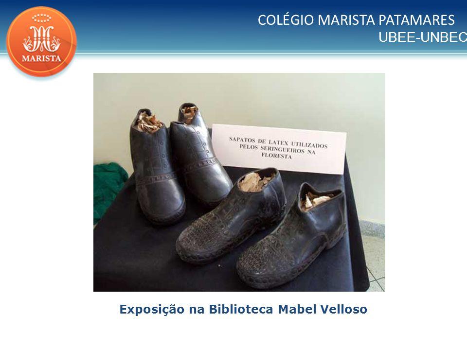 Exposição na Biblioteca Mabel Velloso