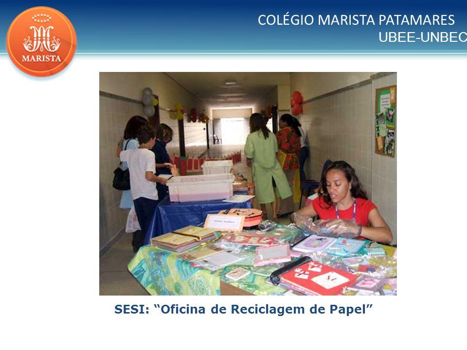 SESI: Oficina de Reciclagem de Papel