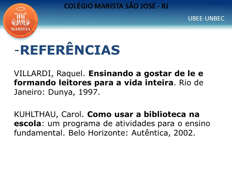 COLÉGIO MARISTA SÃO JOSÉ - RJ
