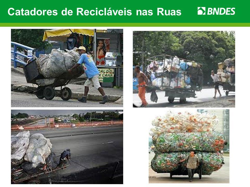 Catadores de Recicláveis nas Ruas