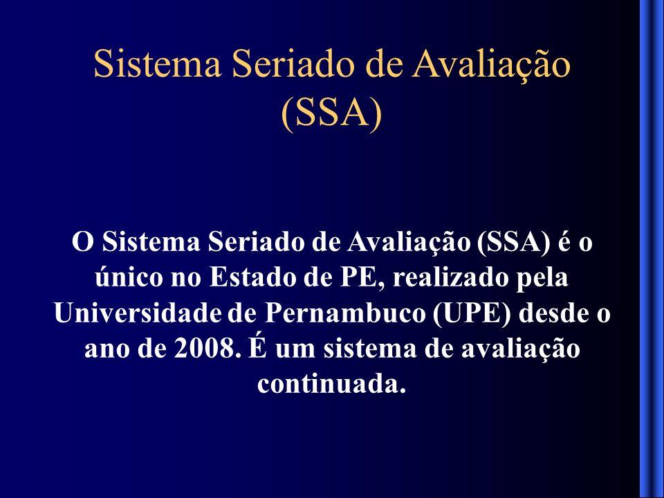Sistema Seriado de Avaliação (SSA)