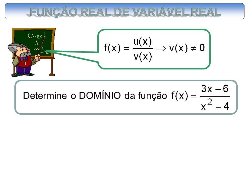 FUNÇÃO REAL DE VARIÁVEL REAL