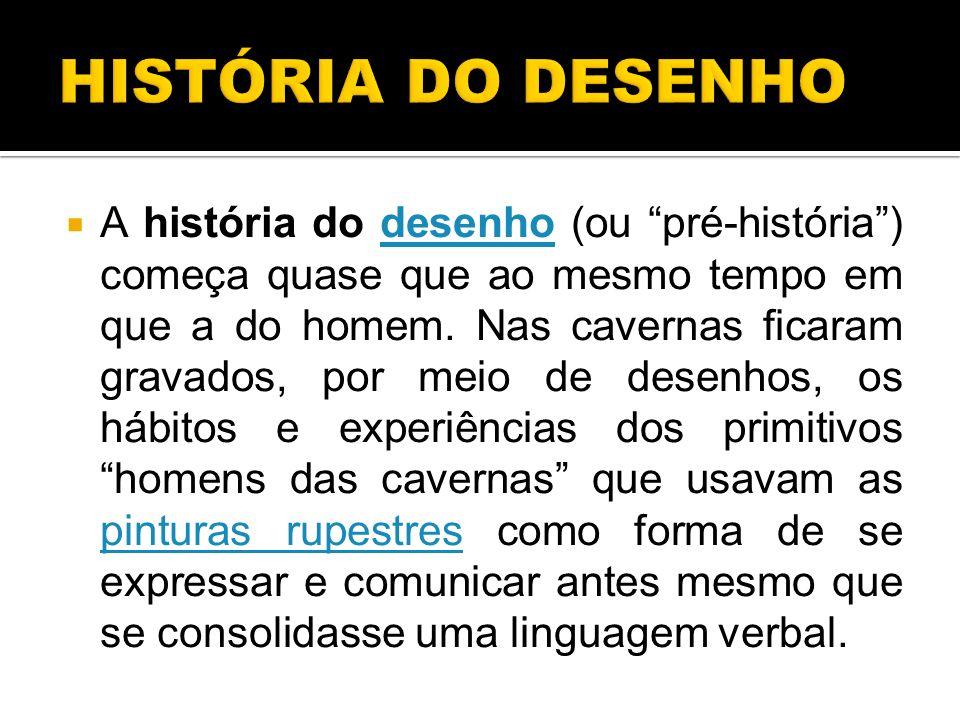 HISTÓRIA DO DESENHO
