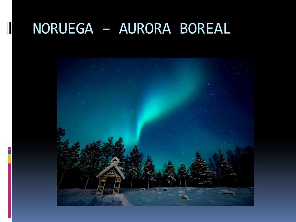 NORUEGA – AURORA BOREAL