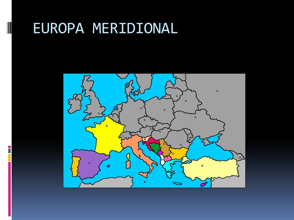 EUROPA MERIDIONAL