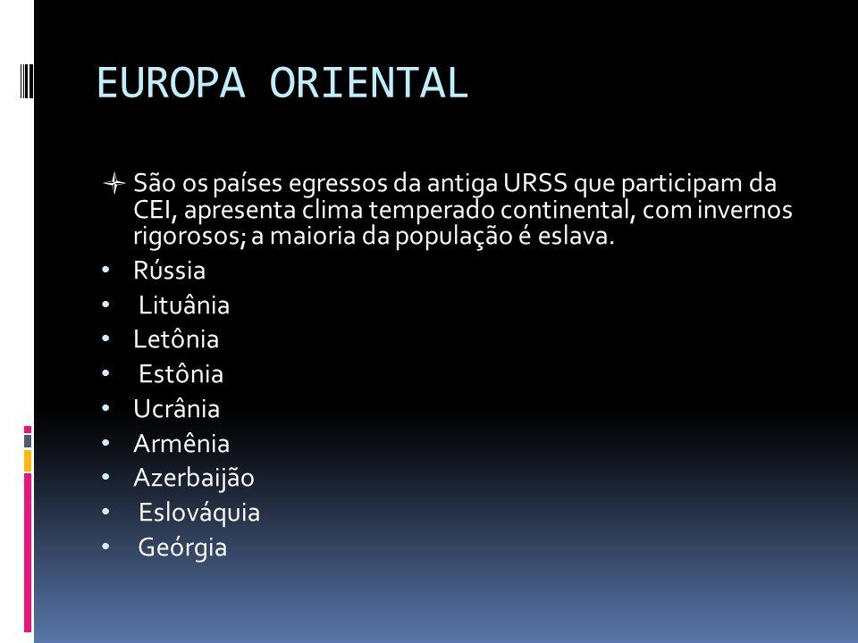 EUROPA ORIENTAL