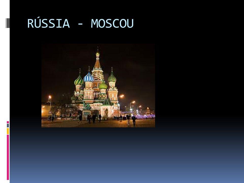 RÚSSIA - MOSCOU