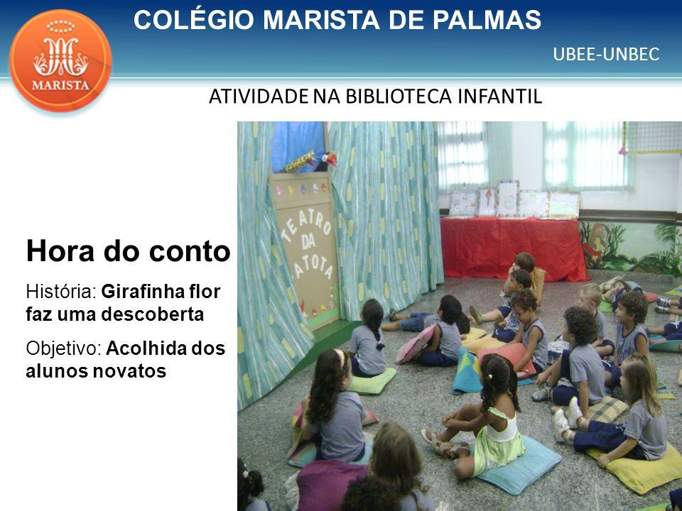 ATIVIDADE NA BIBLIOTECA INFANTIL
