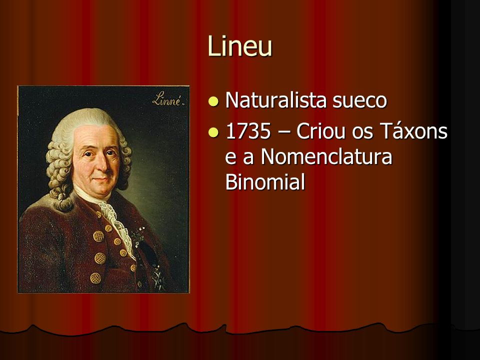 Lineu Naturalista sueco