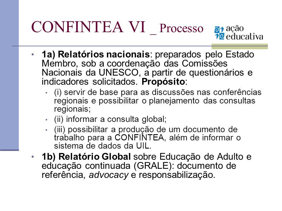 CONFINTEA VI _ Processo
