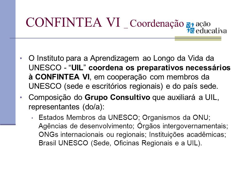 CONFINTEA VI _ Coordenação