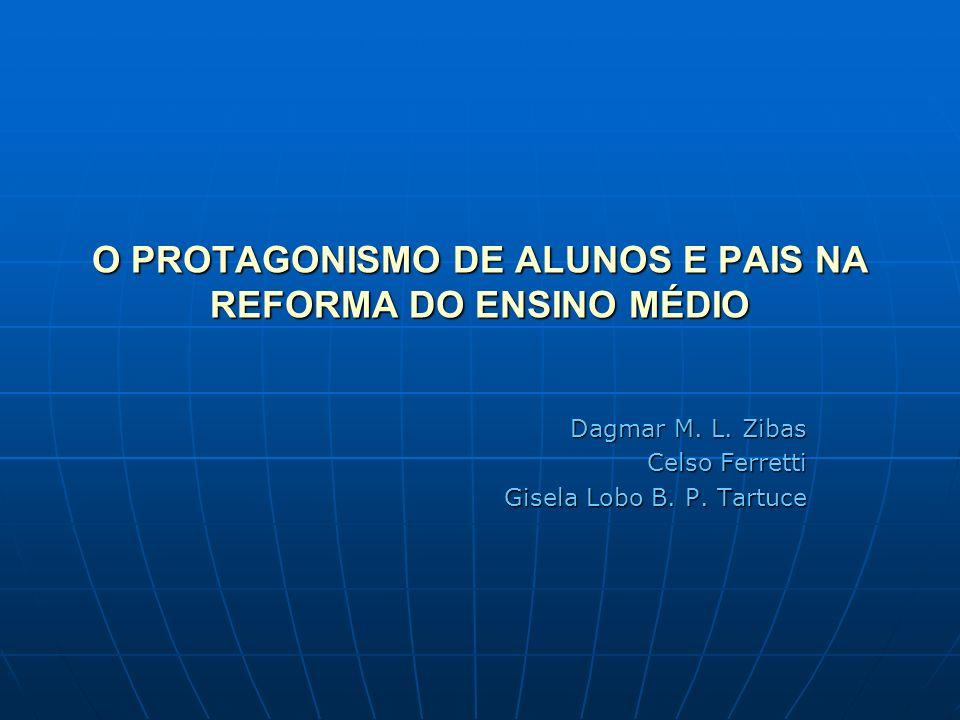 O PROTAGONISMO DE ALUNOS E PAIS NA REFORMA DO ENSINO MÉDIO
