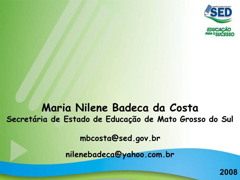 Maria Nilene Badeca da Costa